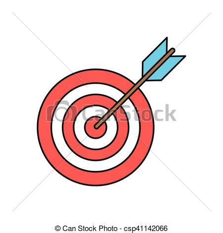 freccia clipart disegno isolato freccia bersaglio idea bersaglio