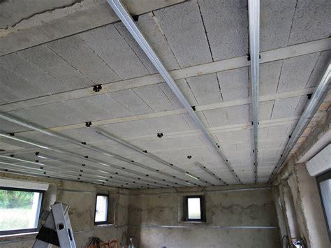 Tige Filetée Faux Plafond by Faux Plafond Sans Suspente Menuiserie Image Et Conseil