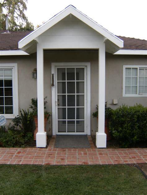 Exterior Door Overhang Photos Front Door Overhangs