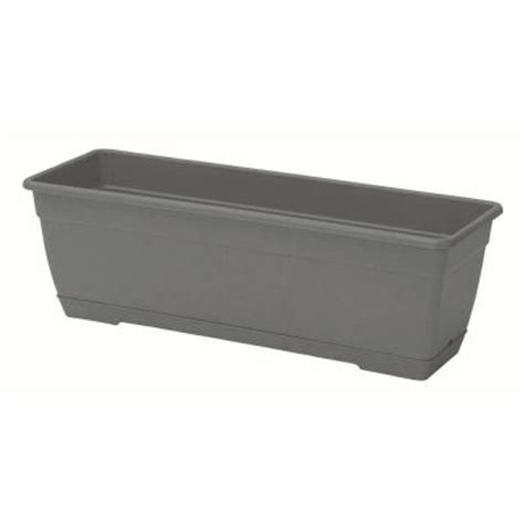 Slate Planter Boxes by Marchioro 15 25 In Slate Window Box Planter 368465x The