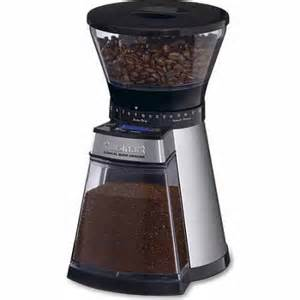 Coffee Maker With Grinder Walmart Cuisinart Programmable Conical Burr Grinder Walmart