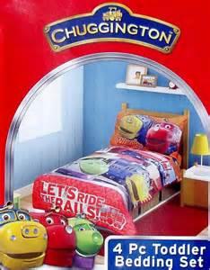 Chuggington Bedding by Chuggington Trains Ride The Rails Bedspread Sheets 4pc