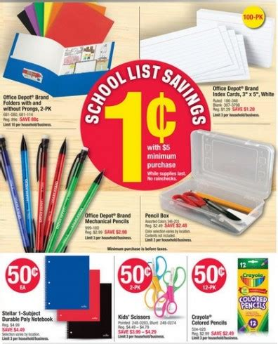printable index cards office max printable coupons deal seeking mom 187 office depot penny