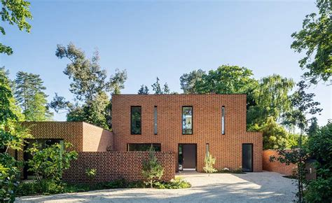 clay brick house designs modern house brick design