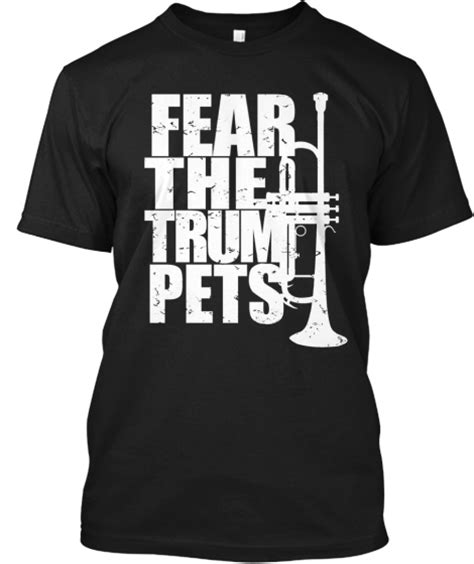 trombone section shirt ideas fear the trumpets