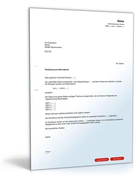 einladungsschreiben visum schweiz vorlage einladung zum elternabend vorlage zum