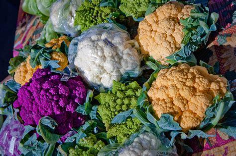 colored cauliflower colored cauliflower pleasanton farmers market flickr
