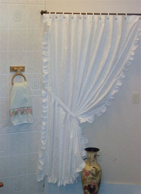 victorian shower curtains bathroom victorian or country shower curtain by lizzypoppins on etsy