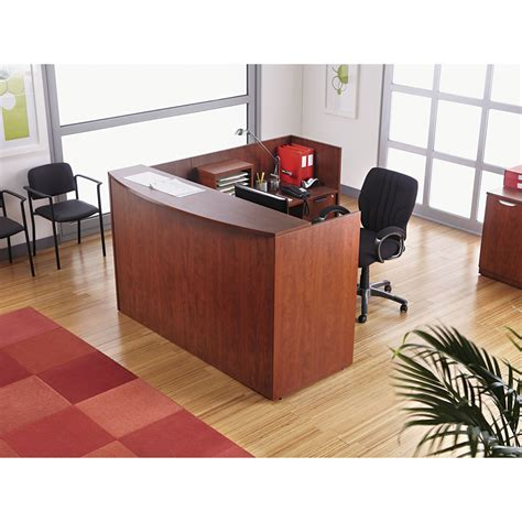 reception desk with transaction counter get valencia series reception desk with transaction