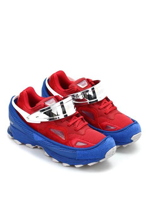 Raf Simons Shoes Sale by Adidas Raf Simons Response Trail Sneakers Trainers Aq2648powredcroyalcgrani