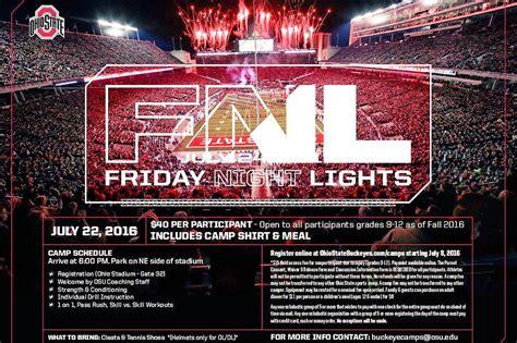 Lghl 2016 Ohio State Friday Night Lights Visitors List