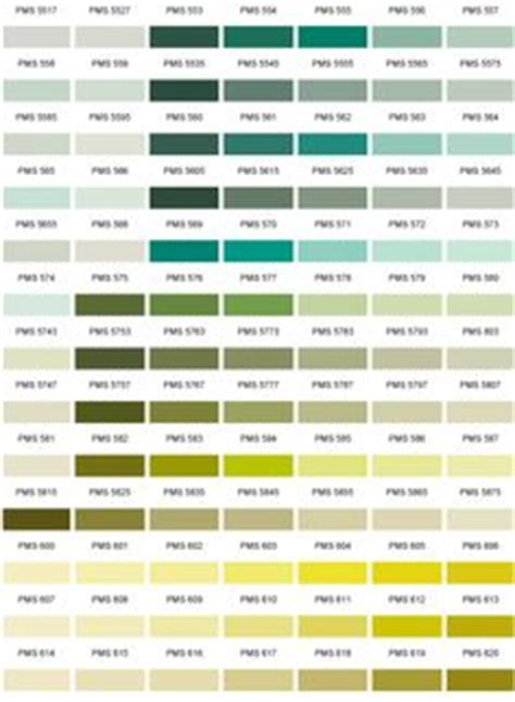 colour chart charts and colour on
