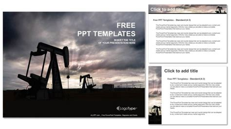 powerpoint templates free oil oil pump jack powerpoint templates