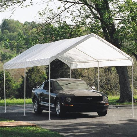 10x20 Carport Shelterlogic 10 X 20 Instant Garage In Carports