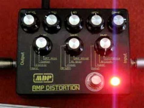 Efek Cabinet Simulator Distortion Mdp Custom Guitar Effect