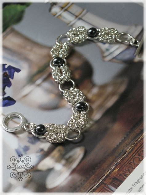 Handmade Jewelry Classes - chainmaille jewelry ideas on chainmaille