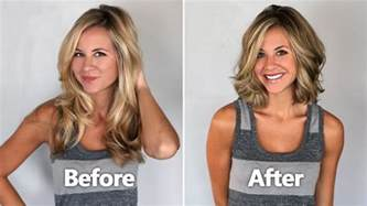 before and after haircuts for amazing women haircut styles before and after 2016 youtube