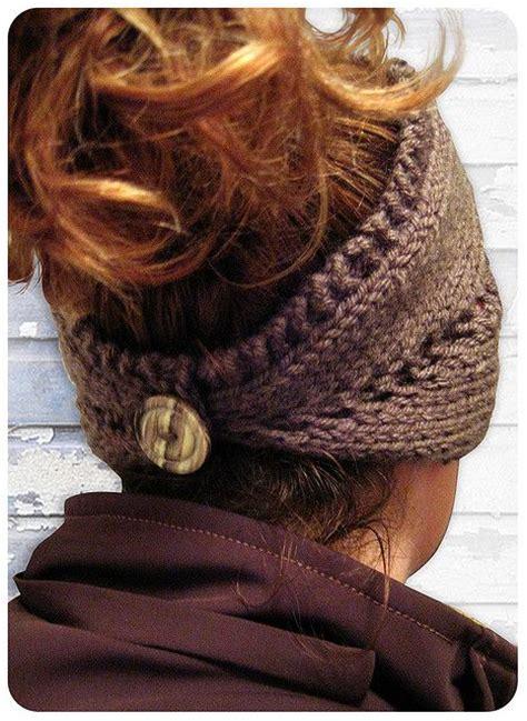knit lace headband pattern pattern convertible center row lace headband neck