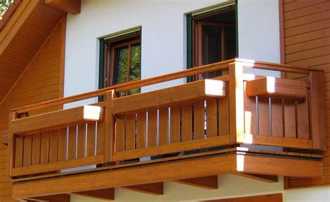 holzkonstruktion balkon wood balcony design ideas beautiful accents