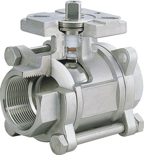 ball valve cross section stainless steel 3 piece ball valves cross section