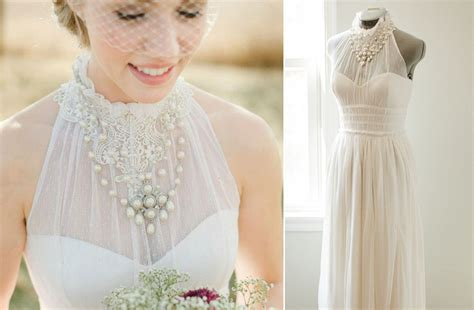 Handmade Bridesmaid Dresses - lace wedding gowns handmade bridal 2 onewed