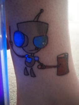 ink that shows up black light black light tattoos scratch ink custom tattooing