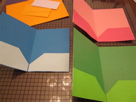 How To Make Paper Folders With Pockets - american goes to school theroommom