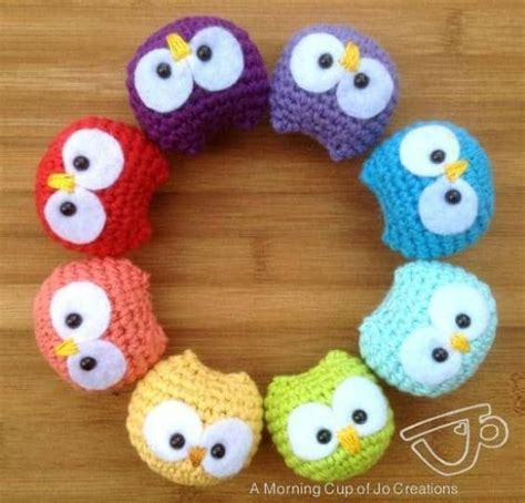 crochet owl motif pattern free crochet baby owls pattern free video tutorial great ideas