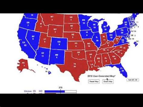 presidential election 2016 predictions youtube