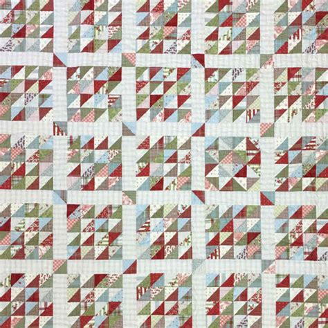 Sewing A Patchwork Quilt - quilting sewing quilt pattern moda cake mix 3 preprinted