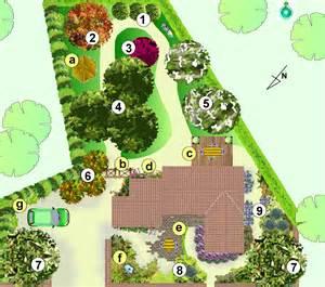 exemple plan jardin mod 233 le d am 233 nagement paysag 233 page