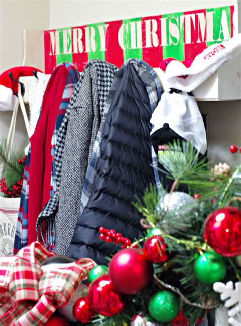 diy christmas coat rack plus ryobi power tool giveaway