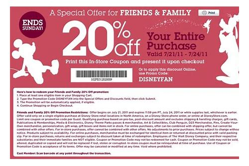disney outlet coupon printable