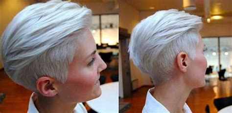 Silver Pixie Hair   The Best Short Hairstyles for Women 2016