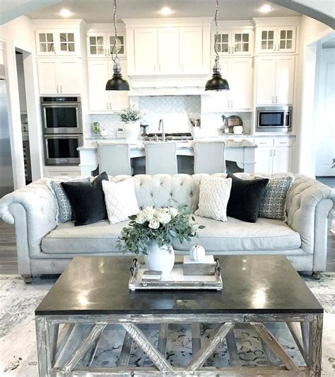 kitchen sitting room ideas 19 kitchen living room ideas farmhouse living room open