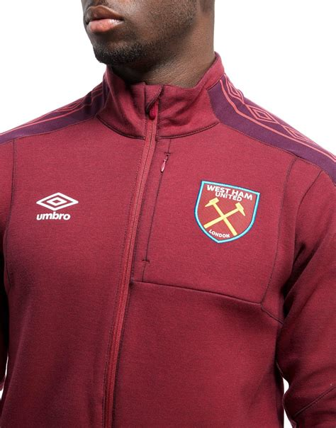 Sweater West Ham United H02 Qlep lyst umbro west ham united walkout jacket in for