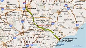 and south carolina road map directions