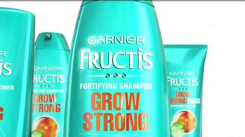 garnier fructis grow strong tv spot stronger hair song hair care tv commercials ispot tv