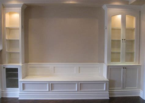 built in cabinets in dining room lawrence park banquet china cabinets