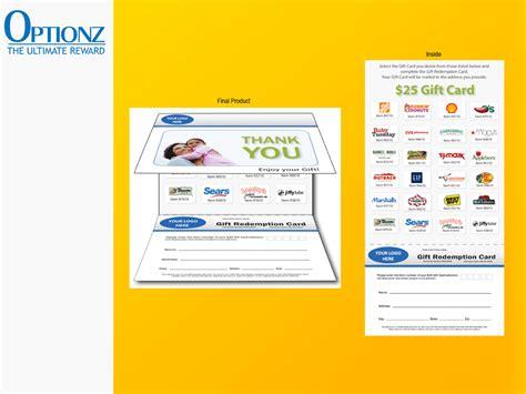 Usa Benefits 100 Gift Card - optionz reward certificates