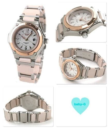 casio womens baby g water resistant two tone
