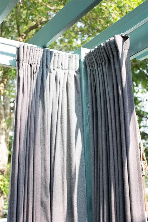 green outdoor curtains photo page hgtv