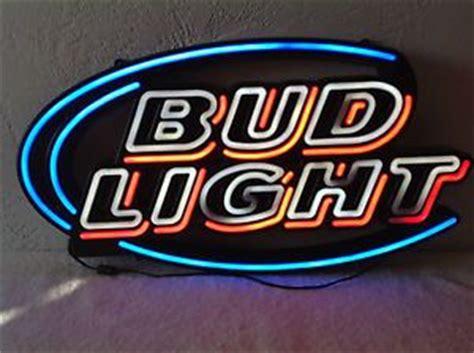 bud light bar signs kc chiefs bud light neon bar sign kansas city