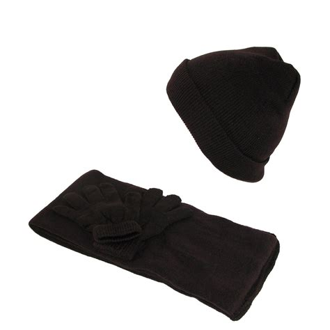stretch hat gloves and scarf winter set by ctm