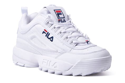Fila Disruptor In White disruptor 2 bright white sneakers fila shoechapter