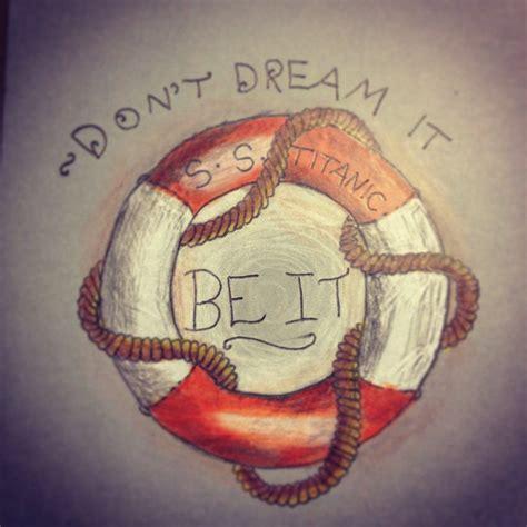 don t dream it be it tattoo don t it be it by prosper the xviii on deviantart