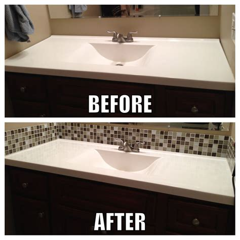diy bathroom backsplash ideas tile backsplash bathroom diy ideas for the house