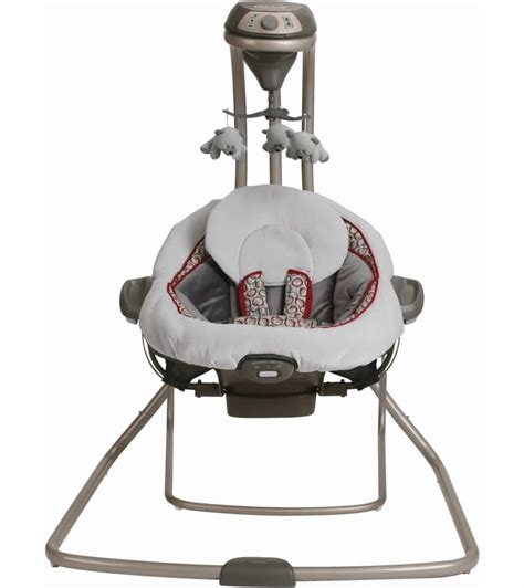graco duet connect 2 in 1 swing and bouncer monroe graco duetconnect lx swing bouncer finley