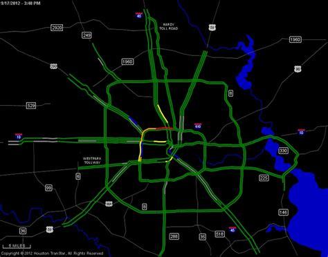 transtar map houston transtar traffic map hurricane emergency info