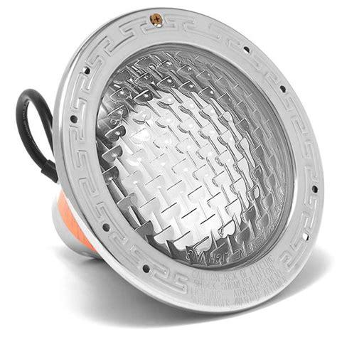 Amerlite Pool Light pentair 78428100 amerlite 120v 300w 50 cord with stainless steel ring pool light